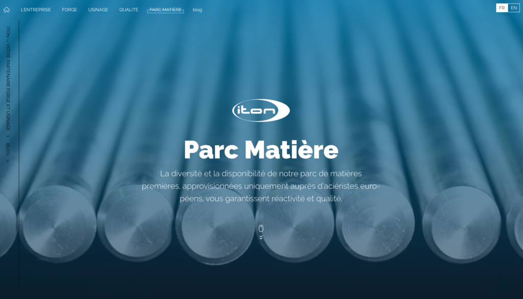 ITON - Site_Capture_matieres