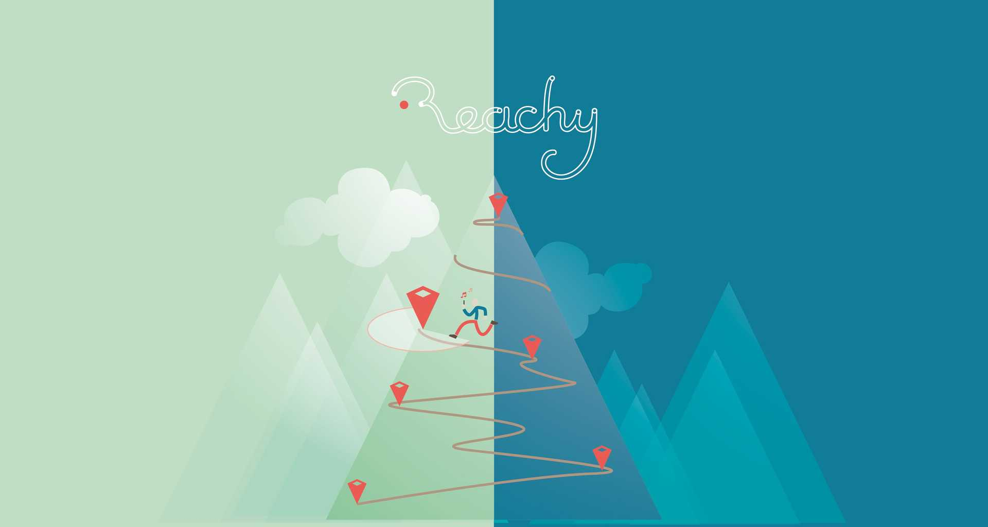Reachy - Illustration in reality
